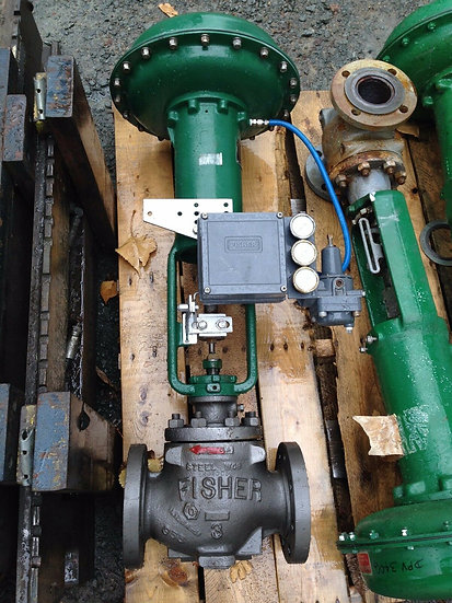 FISHER 3in TYPE ED CLASS 150 667 ACTUATED GLOBE VALVE