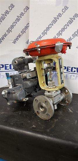 FISHER BAUMANN 1in CL150 32-24 588SF Globe Valve w/Pressure regulator & position