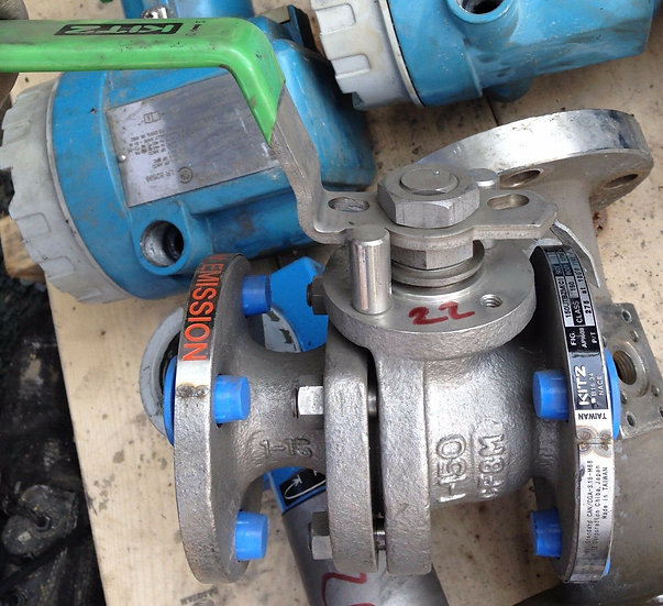 KITZ NEW 1 INCH CLASS 150 MANUAL BALL VALVE