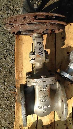 ALLOY STEEL PRODUCTS 4 INCH CLASS 150 MANUAL GATE VALVE