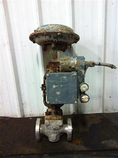 """Fisher 2"""" type EZ globe valve"""