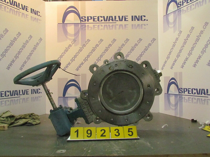 DEZURIK BHP 8in. MANUALLY ACTUATED BUTTERFLY VALVE