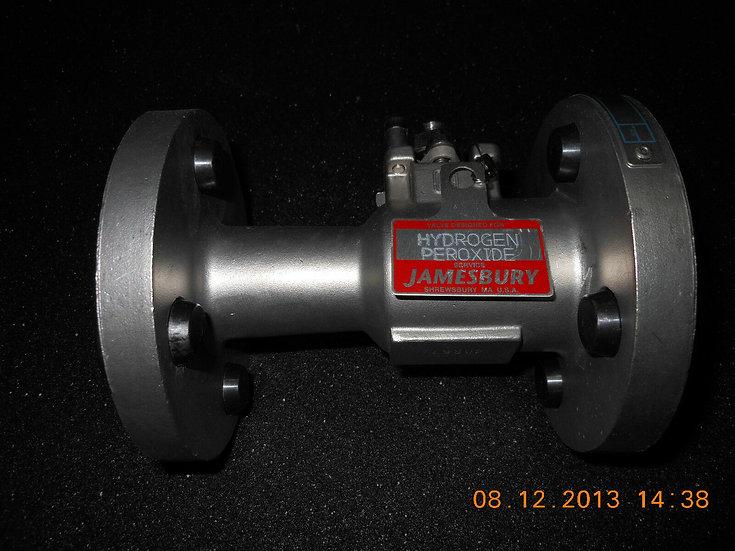JAMESBURY BALL 3/4 FLANGED TYPE 9300 316SS