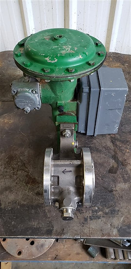 Fisher 2in V-150 Actuated V-Ball Valve