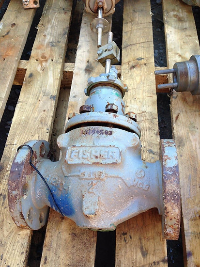 FISHER 2in TYPE E CLASS 300 WCB STEEL GLOBE VALVE BODY