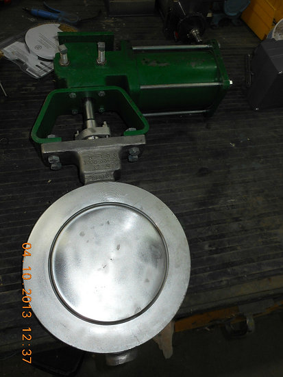 FISHER VALVE POSI-SEAL 8 INCHES