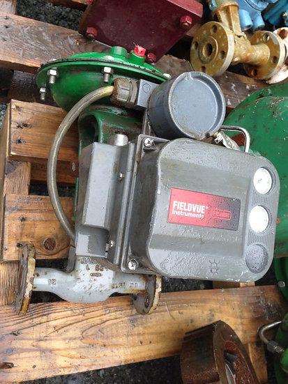 BAUMANN 3224177CVF 12 INCH WCC CLASS 150 DVC6000 GLOBE VALVE