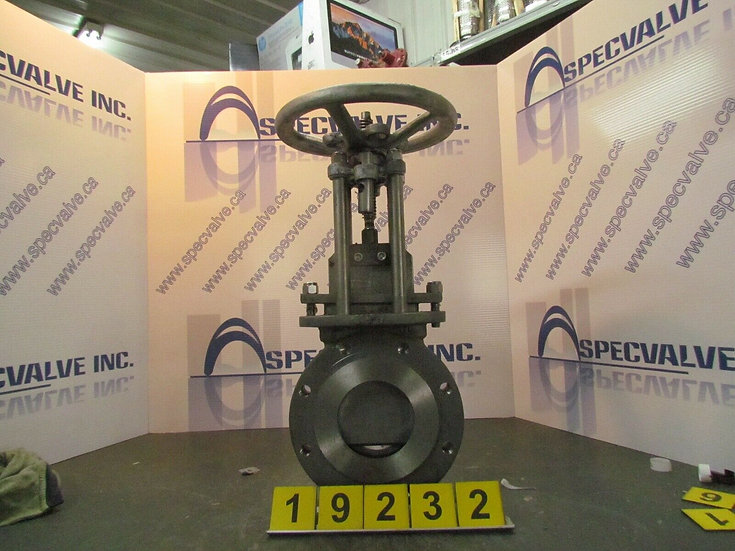 NVP 4'' KNIFE GATE VALVE MANUALLY ACTUATED