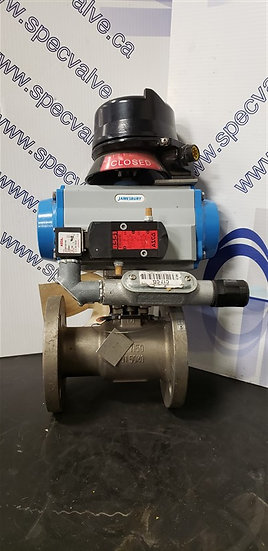 JAMESBURY 2in  CL150 BALL VALVE 7150313600XTZ2