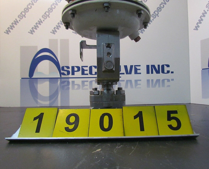 BAUMANN CONTROL VALVE 1/2 in. MODEL 16-512075 W/O POSITIONNER