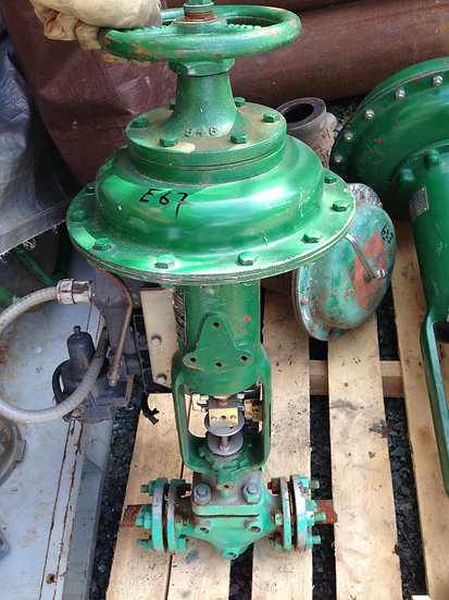 FISHER TYPE ES 1 INCH CLASS 150-285 667 ACTUATED GLOBE VALVE