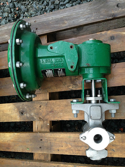 FISHER V200 1 INCH CLASS 150-600 1052 ACTUATED VALVE