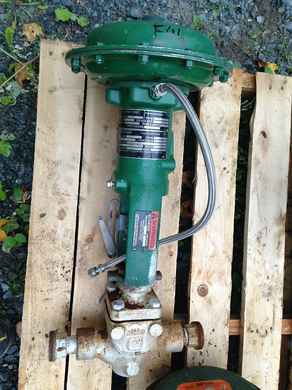FISHER 1in TYPE EZ CLASS 250 667 ACTUATED GLOBE VALVE
