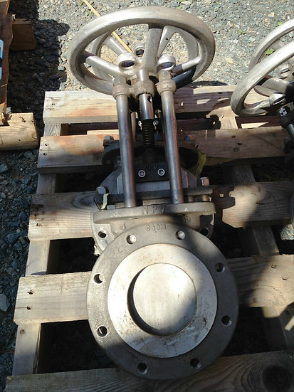 NPV 4in CLASS 150 MANUAL KNIFE GATE VALVE