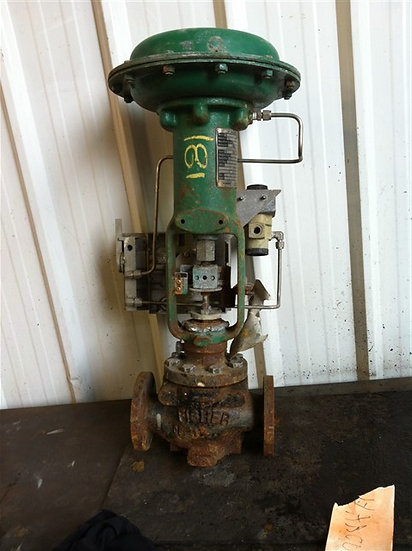 FISHER 1.5 in Type ED Actuated GLOBE Valve