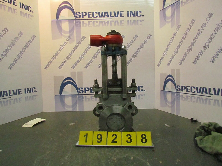 TRUELINE 3'' KNIFE GATE VALVE MANUALLY ACTUATED