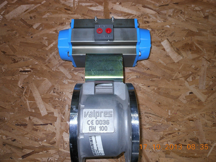 VALBIA VALPRES 4in DN100 ACTUATED BALL VALVE