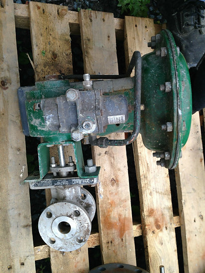 FISHER V150 1 INCH CLASS 150 1052 ACTUATED VALVE