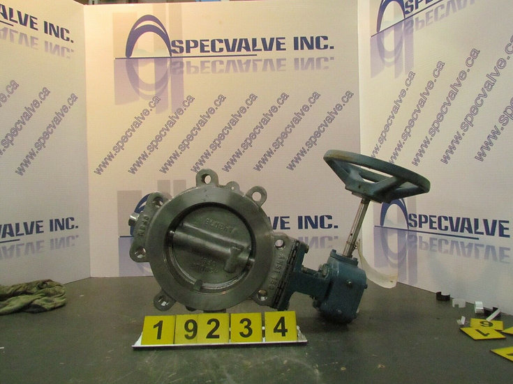 DEZURIK BHP 6in. MANUALLY ACTUATED BUTTERFLY  VALVE