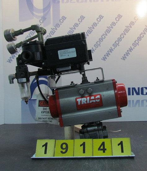 TRIAC EPR-1000 ELECTRO PNEUMATIC POSITIONNER