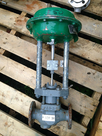 FISHER GL 1 INCH CLASS 150 1250 ACTUATED VALVE