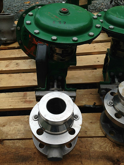 FISHER V150 2 INCH CLASS 150 1052 ACTUATED VALVE