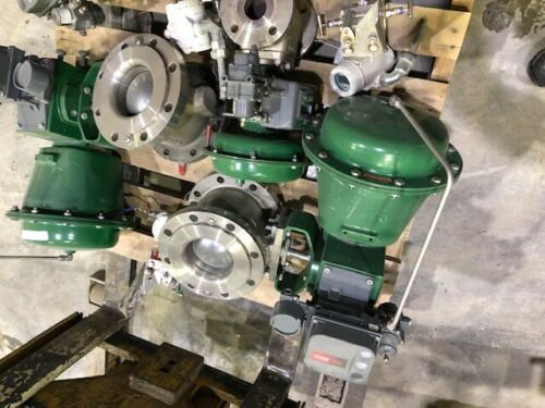 FISHER V150 6 INCH CLASS 150 1052 ACTUATED VALVE DVC6200