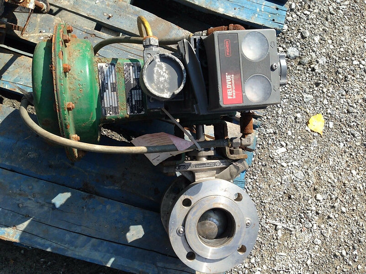 FISHER  3in V200 SER.B CLASS 150 1051 ACTUATED VALVE