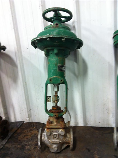 Fisher 1in Actuated type 667 Globe Valve