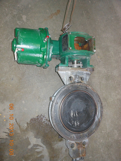 FISHER VALVE E-DISC 12 INCHS CLASS 300