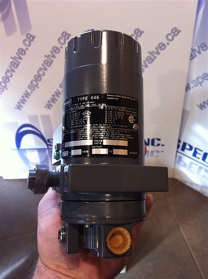 Fisher Type 646 current-pressure converter NEW