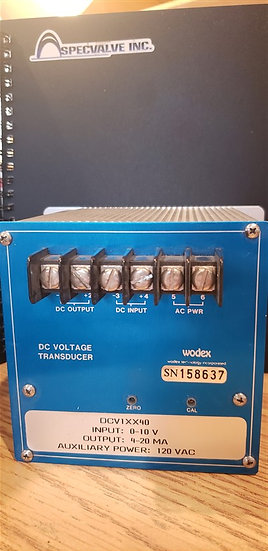 Wodex DC Voltage Transducer DCV1XX40