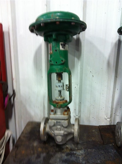 FISHER 1in Type ET Actuated  GLOBE Valve