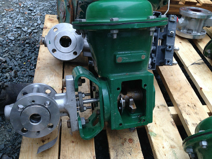 FISHER 1in V150 CLASS 150 2052 ACTUATED VALVE