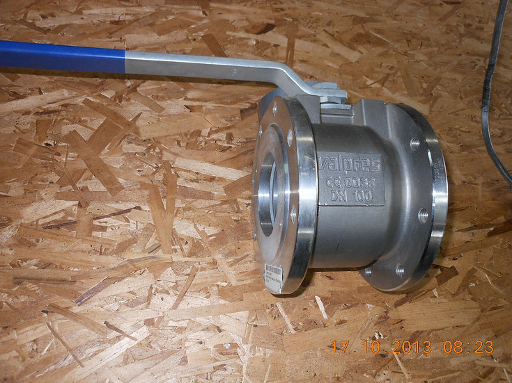 VALBIA VALPRES 4 INCHES DN100 BALL VALVE