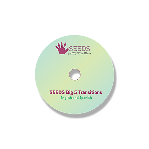 Big 5 Transitions CD