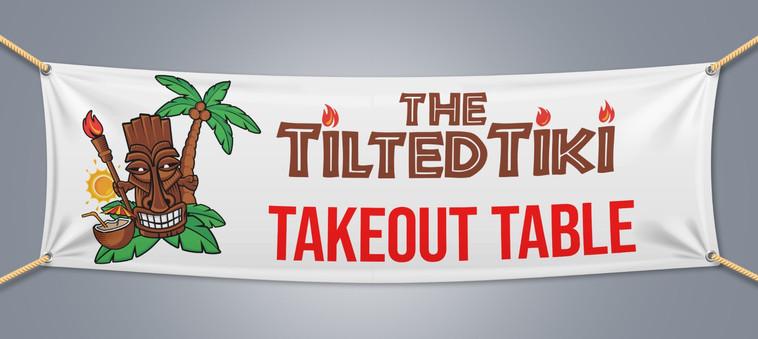 Tilted Tiki Banner