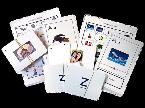 Bilingual Literacy Card Kit