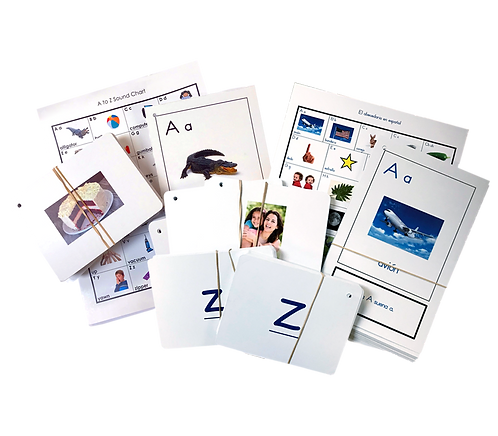 Bilingual Literacy Card Kit