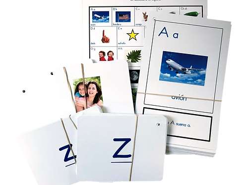 Spanish Literacy Card Kit