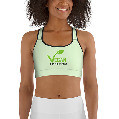 VEGAN FOR THE ANIMALS - Sports bra