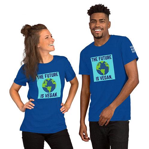THE FUTURE IS VEGAN - Short-Sleeve Unisex T-Shirt