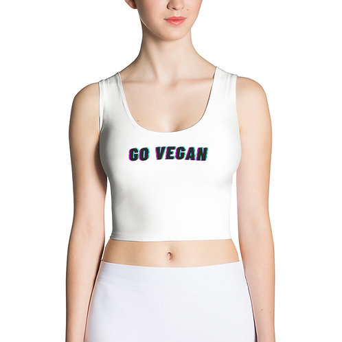 GO VEGAN - Crop Top