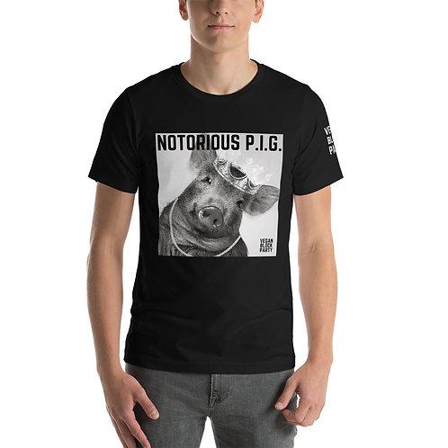 NOTORIOUS P.I.G. Short-Sleeve Unisex T-Shirt