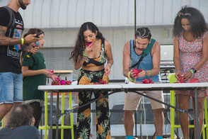 DRAGONFRUIT EATING CONTEST