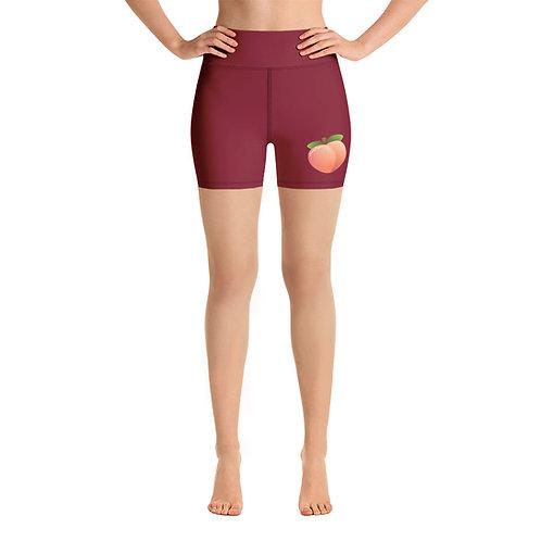 PEACHY VEGAN - Yoga Shorts