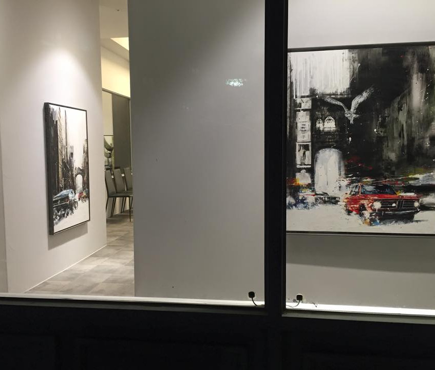 """The 5th Solo Exhibition """"long journey"""""""