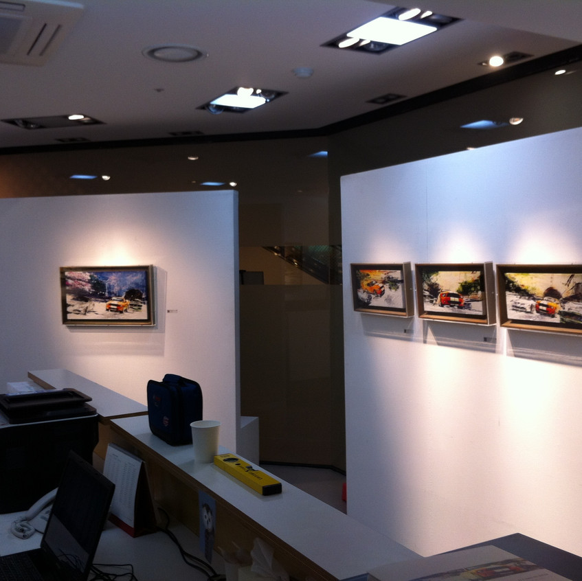 """The 2nd Solo Exhibition """"It's time to begin"""""""