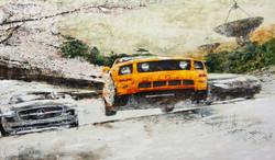 시작되다 Begin NO.12  165 x 96.9cm mixed media 2012