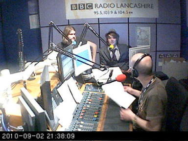 Me and Alan on Introducing BBC Radio Lancs